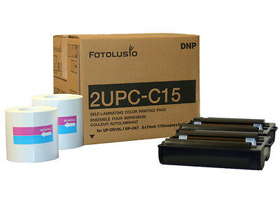 SONY/DNP 2UPC-C15 Color Print Pack