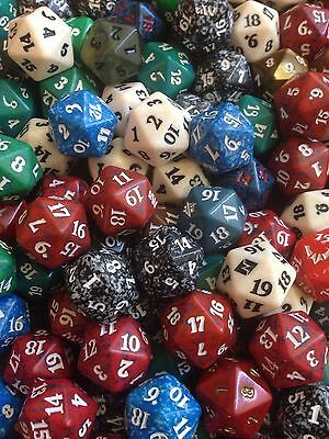 assorted Magic The Gathering Spin Down Counter Dice Mtg