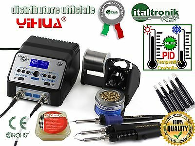 Soldering Station Professional Yihua 938Bd Pid 5 Tips Long-Lasting Paste