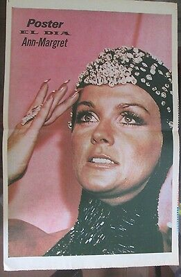 Ann-Magret Celebrity Poster 1979 From A Magazine In Spanish