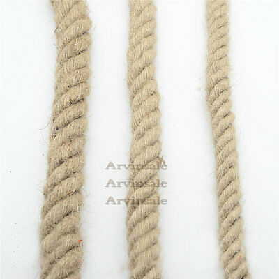 1m Retro hemp rope Wire 0.75 Electrical Braided Fabric Twisted Cable wire