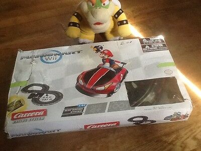 Mario Kart Wii Carrera Racing System Figure 8 Track INCOMPLETE -  FOR PARTS