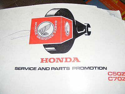 Honda  C50Z2 / C70Z2  Parts Catalogue Manual  (1)