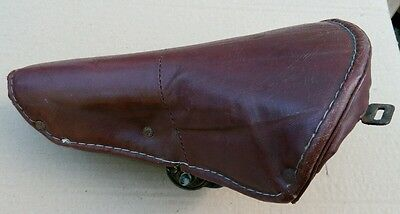Lovely Vintage Brown bicycle saddle seat suitable for Moulton BSA Rudge Humber