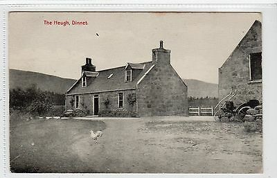 THE HEUGH, DINNET: Aberdeenshire postcard (C12779)
