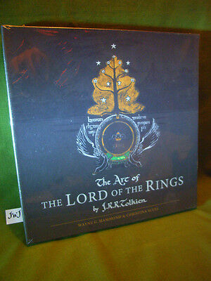 Wayne Hammond & Christina Scull The Art Of The Lord Of The Rings Slipcased New