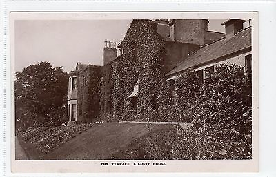 THE TERRACE, KILDUFF HOUSE: East Lothian postcard (C12964)
