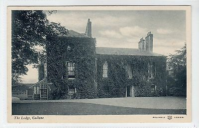THE LODGE, GULLANE: East Lothian postcard (C12989)
