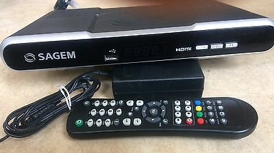 Sagem DTR67500T 500GB Hard Drive Twin Tuner PVR w/ Live Pause 250 Hrs Recording