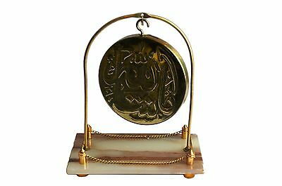 collectible islamic religious antique brass table top decorative gift-USA Seller