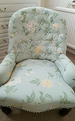 Antique Victorian nursing Chair nursing chair