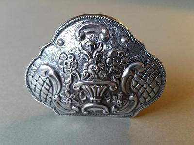 TOP PRICE! RARE Ottoman MEDICINE or snuff Hand-wrought High purity silver box