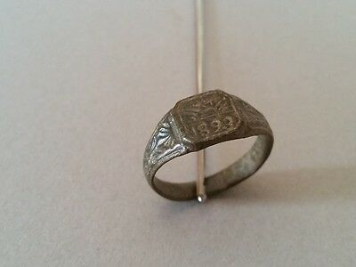 TOP PRICE!!! ANTIQUE AUTHENTIC artifact Ottoman bronze RING from 1893
