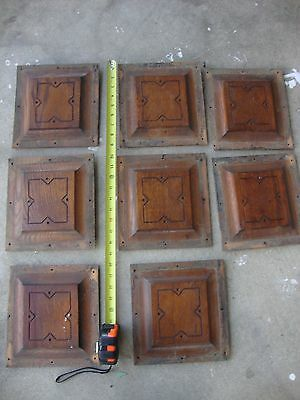Salvage Architecture Antique Furniture Part  8 Carved Oak Panels Inserts Pieces