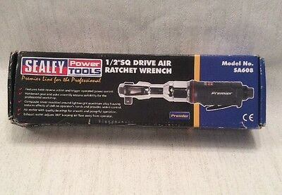 Sealey Sa608 Air Ratchet Wrench 1/2 Inch Sq Drive Premier