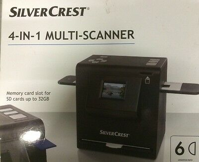 4 In 1 Multi Scanner For Pictures And Negatives