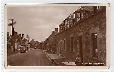 WEST END, LEUCHARS: Fife postcard (C13341)