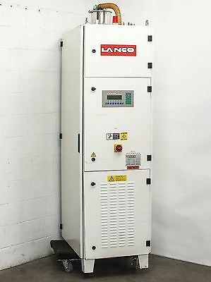 Lanco Polycarbonate Plastics Materials Dryer for Injection Molder LTX08 480 Volt