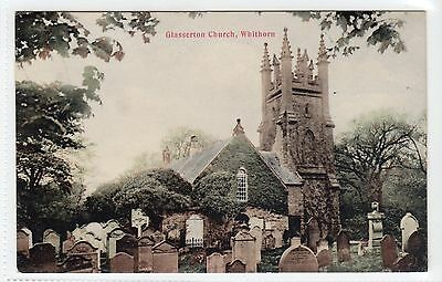 GLASSERTON CHURCH, WHITHORN: Wigtownshire postcard (C13422)