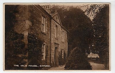 THE VALE HOUSE, GIFFORD: East Lothian postcard (C13016)