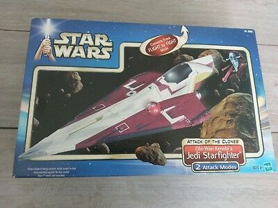 Star Wars Jedi Starfighter Obi-Wan Kenobi Episode 2 II AOTC Vehicle