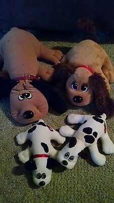 Pound Puppies lot of 4