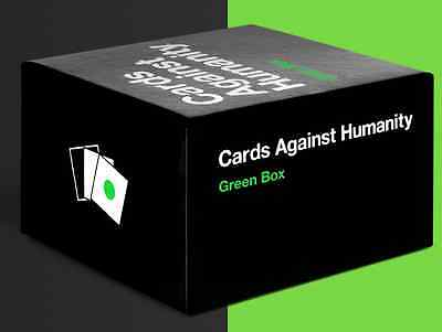 Cards Against Humanity New Expansion: Green Box 300 Cards CAH Free Shipping