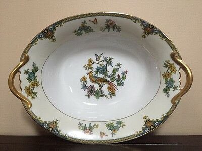 Noritake Coventry, Bird of Paradise, Oval Serving Bowl