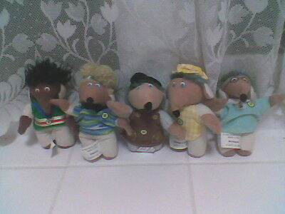 5 Small Mc Donalds Wombles  Free Postage!