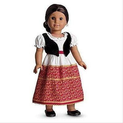 American Girl Josefina DRESS & VEST retired dress vest shoes t6702 NO DOLL