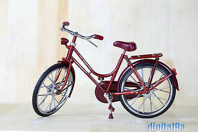 """1/6 Scale Story Accessories Red A Bike/Bicycle Model Wheel Movable F 12"""" Figure"""