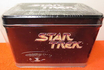 1991 Impel Star Trek 25Th Anniversary Card Tin Collector Set ~ Factory Sealed