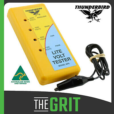 Thunderbird EF-9 Electric Fence Lite Volt Tester Voltage Fault Level Test