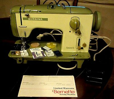 Bernina Favorit  Sewing Machine Model 740 & Accessories - Needles