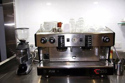 Wega Atlas 2 Group Coffee Machine & Grinder Commercial - GOOD USED COND. Sydney