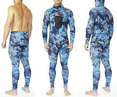 Cartel Dive Covert Blue Water Spearfishing Wetsuit 1.5Mm
