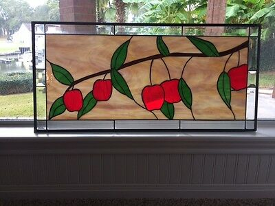 "stained glass window16""x 34"""