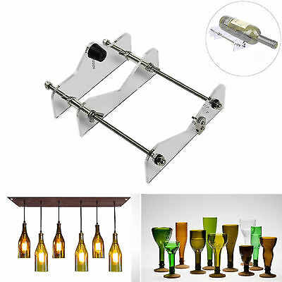 Wine Beer Bottle Jar Glass Cutter Craft Cutting Machine Tool Kit Recycle Acrylic