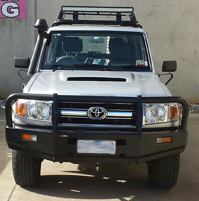 Toyota Landcruiser 76/79 Commercial (2006-2016) Bull Bar Winch Compatible