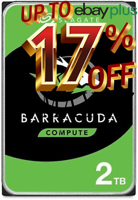 "Seagate BarraCuda 2TB SATA III 3.5"" 7200RPM 256MB Cache Internal Hard Drive"