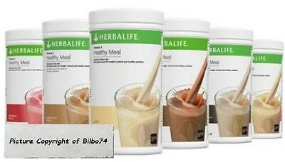 Herbalife Formula 1 Healthy Meal Replacement Shake Mix FREE SHIPPING SUPER FAST!