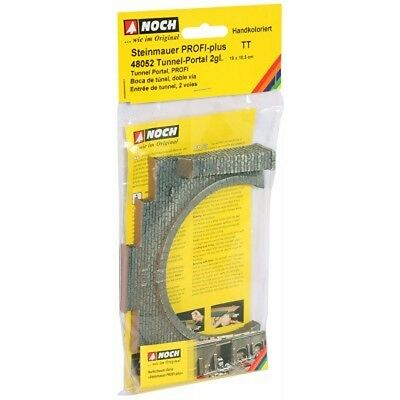 NOCH 48052 TT Tunnel Portal, 2-track, 16 x 10,5 cm new original packaging