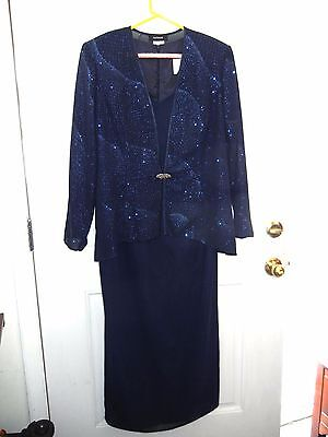Gorgeous R&M Richards Mother Of The Bride Dress size 16