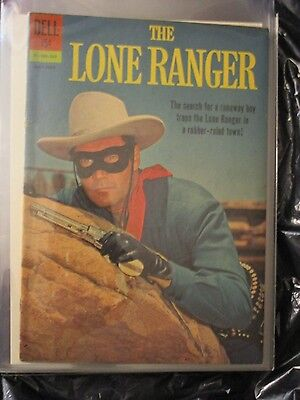 Lone Ranger # 145 Last Issue Scarce Photo Cover F