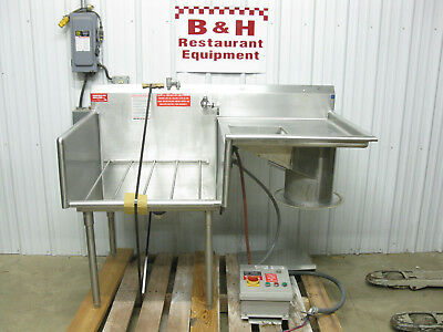 American Delphi 5' Stainless Steel Produce Prep Disposal Sink 58 1/2""