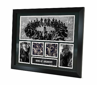 Sons of Anarchy - Signed Photo - Memorabilia - Framed - Limited Edition