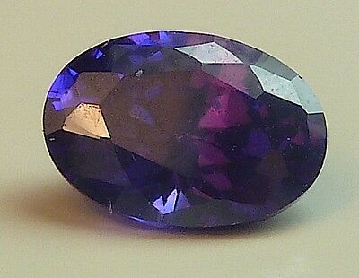 AAA CA 1,19 CT 7,00x5,00 MM OVAL CZ / VIOLET no. 19/ CZ / AAA
