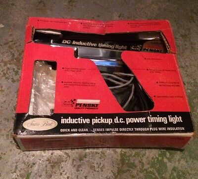 Sears Model No- 244-2138 Power Timing Light. Not Tested Sold As Is