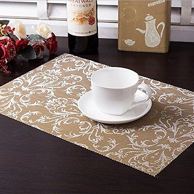 Table Mats Insulation PVC Bowl Tableware Placemat Pad Table Coaster Dining Room