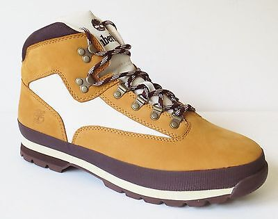 Timberland MEN'S CLASSIC LEATHER EURO HIKER WHEAT Ankle Shoes BOOTS Style #6528A